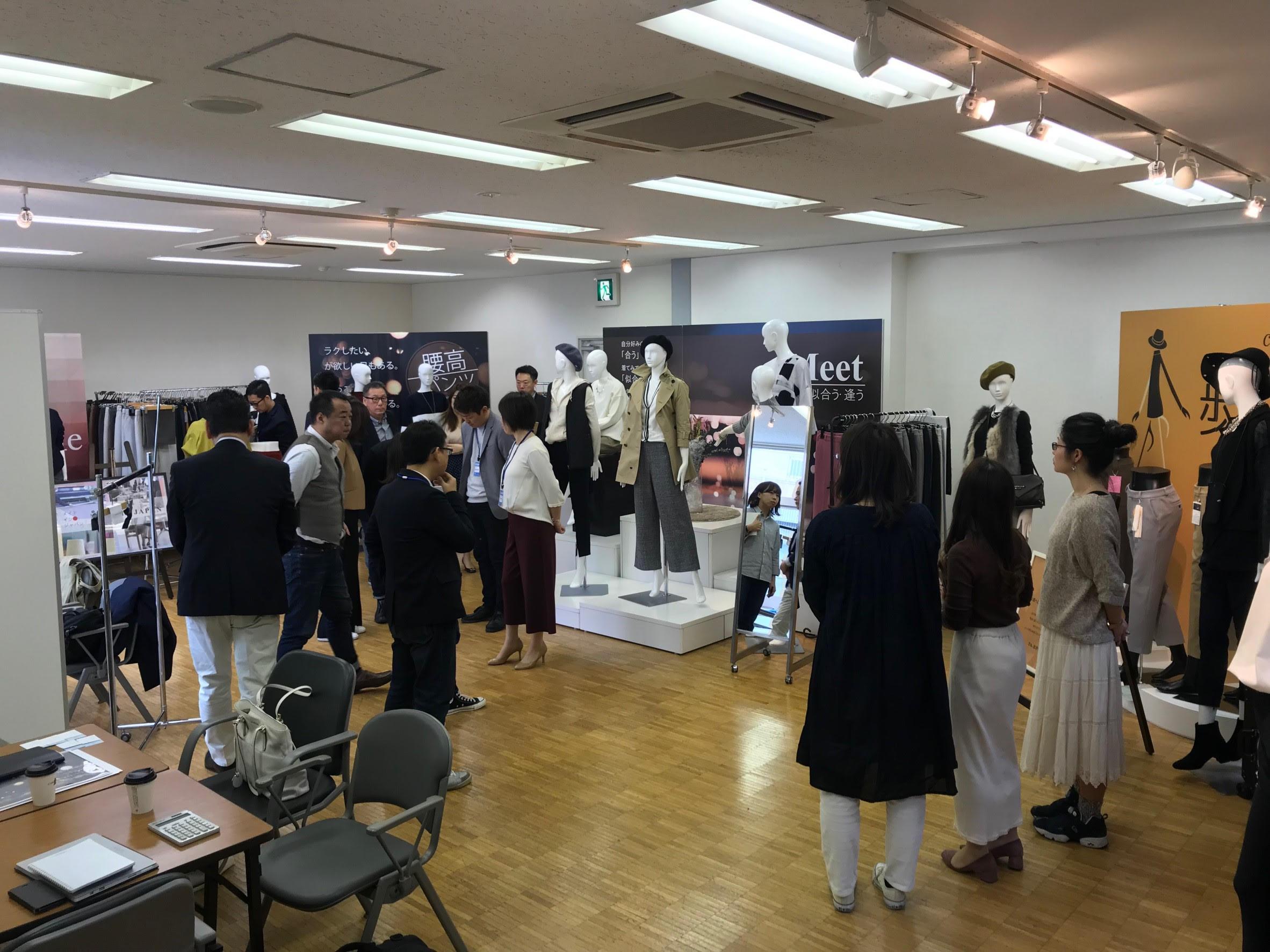東京展示会 大盛況!